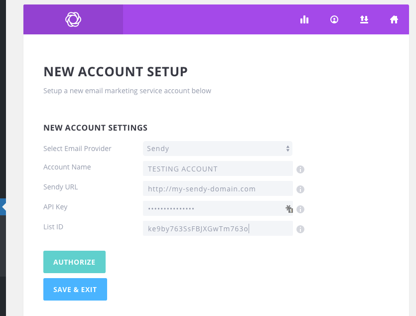 Bloom-Sendy Integration Addon | WP Visionaire